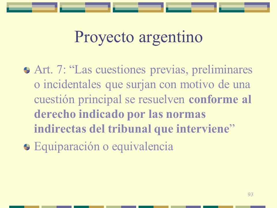 Proyecto argentino