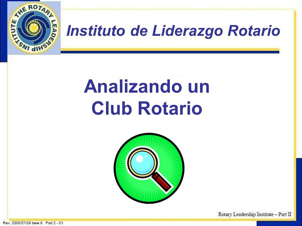 Analizando un Club Rotario
