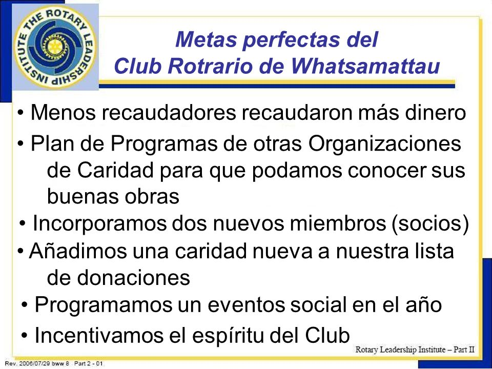 Club Rotrario de Whatsamattau