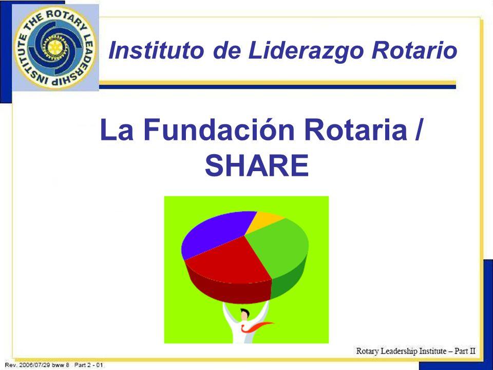 La Fundación Rotaria / SHARE