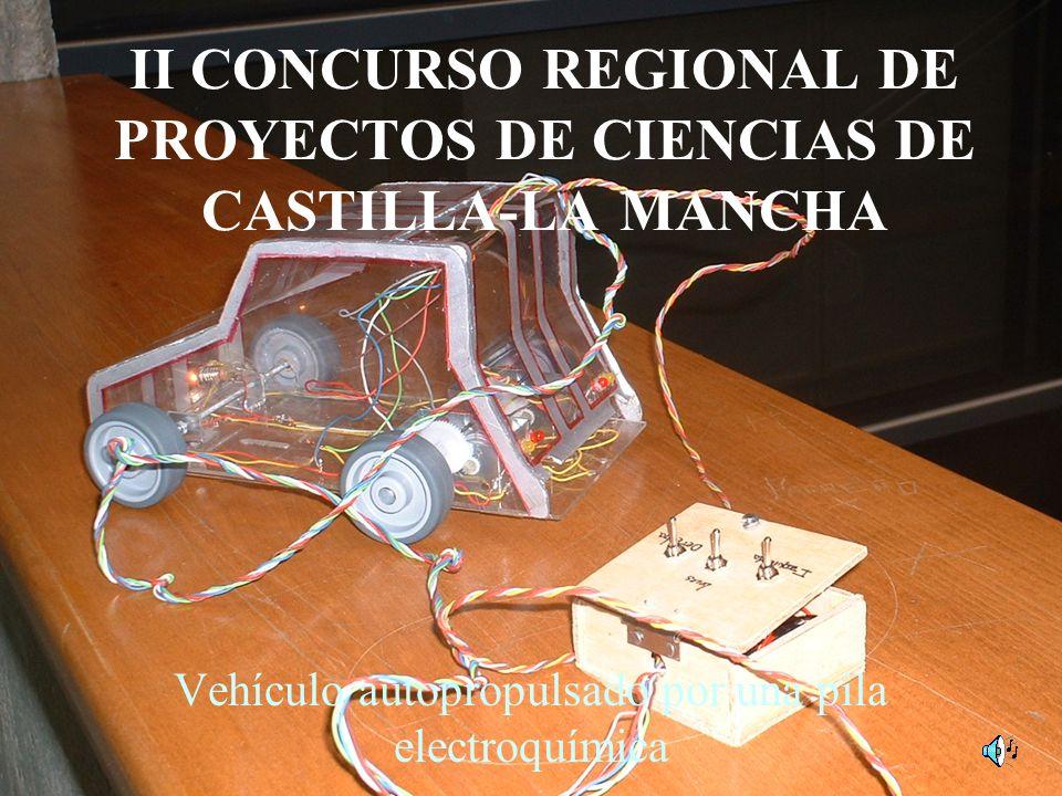 II CONCURSO REGIONAL DE PROYECTOS DE CIENCIAS DE CASTILLA-LA MANCHA
