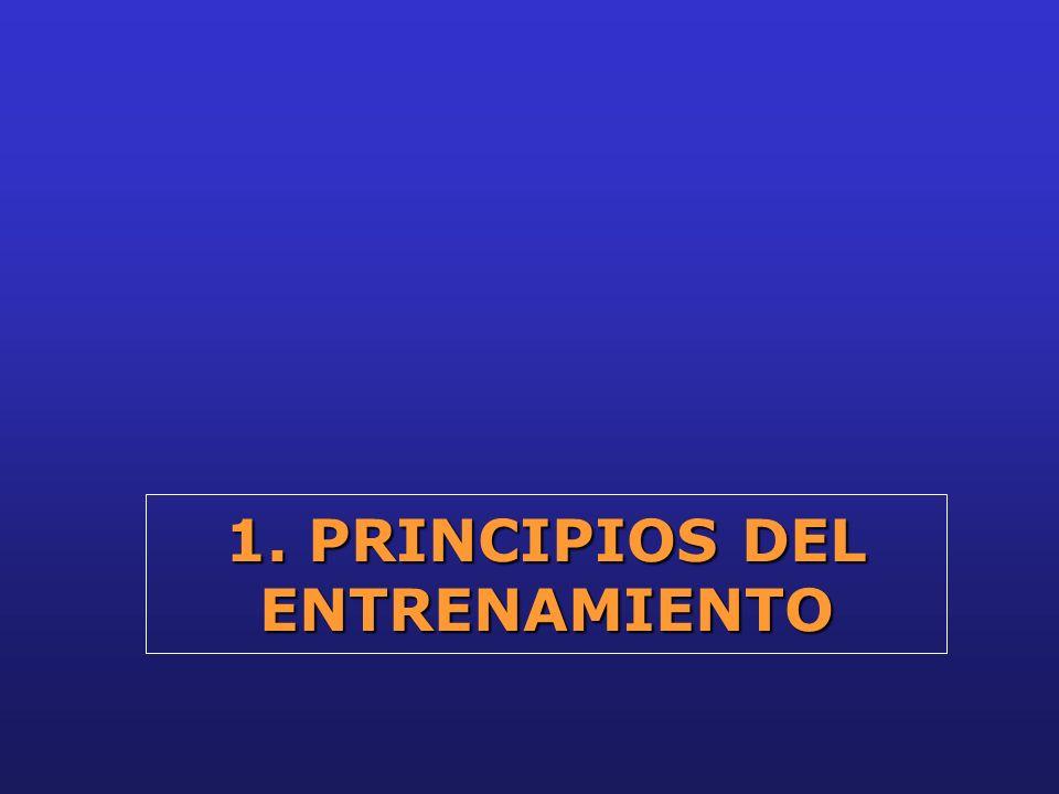 1. PRINCIPIOS DEL ENTRENAMIENTO