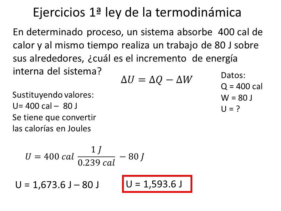 Ejercicios 1 ley de la termodin mica ppt video online for Trabajo de interna en barcelona