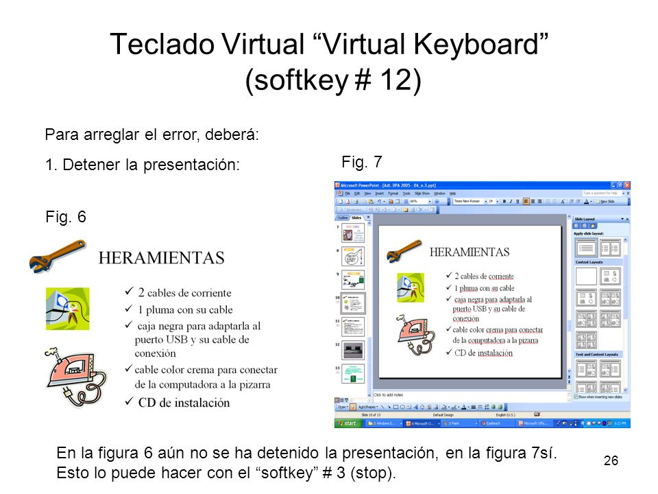 Teclado Virtual Virtual Keyboard (softkey # 12)