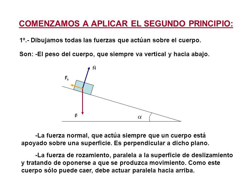 COMENZAMOS A APLICAR EL SEGUNDO PRINCIPIO: