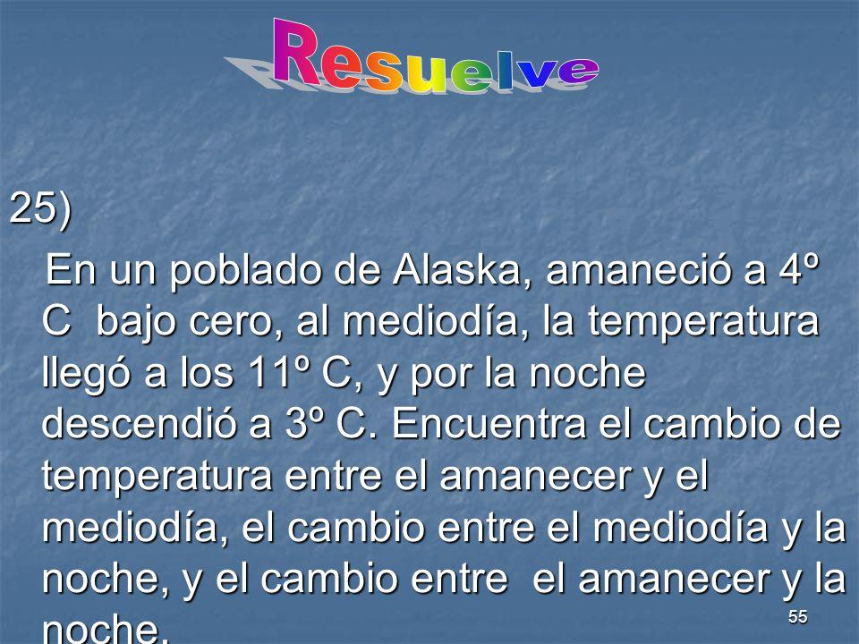 Resuelve 25)