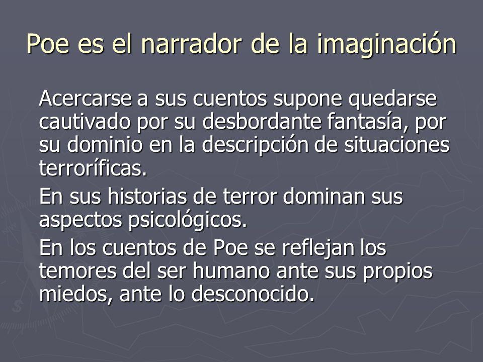 Poe es el narrador de la imaginación