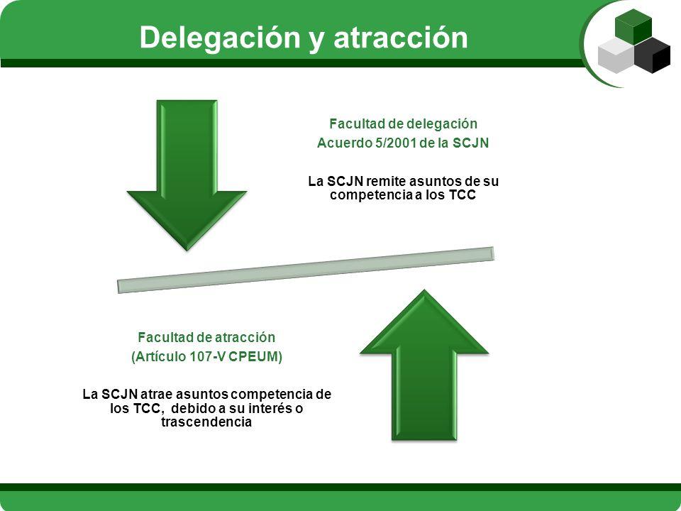 Delegación y atracción