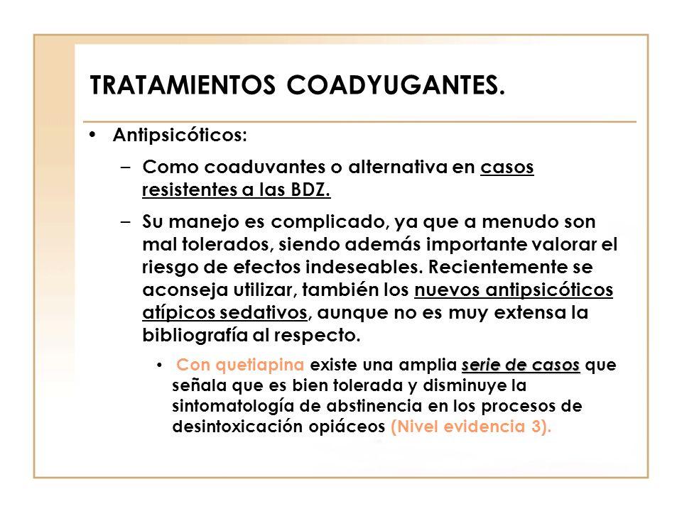 TRATAMIENTOS COADYUGANTES.