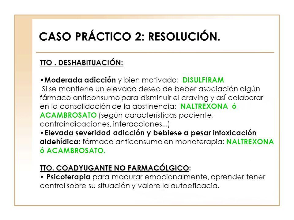 CASO PRÁCTICO 2: RESOLUCIÓN.
