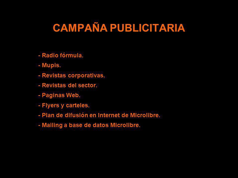 CAMPAÑA PUBLICITARIA - Radio fórmula. - Mupis.