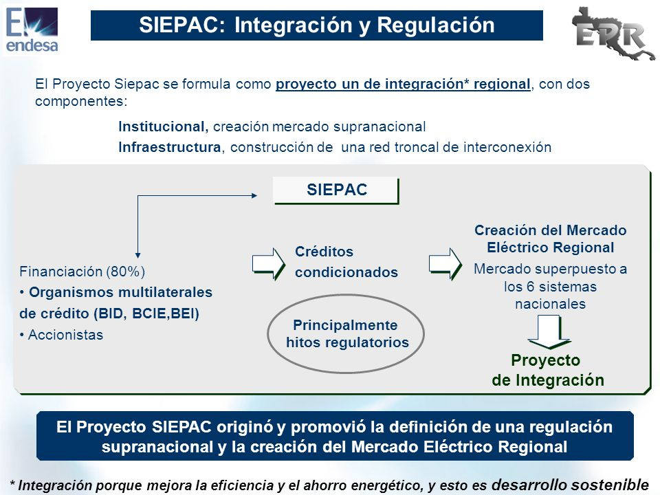 SIEPAC: Integración y Regulación