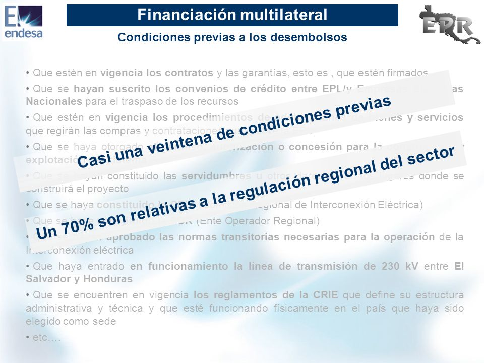 Financiación multilateral