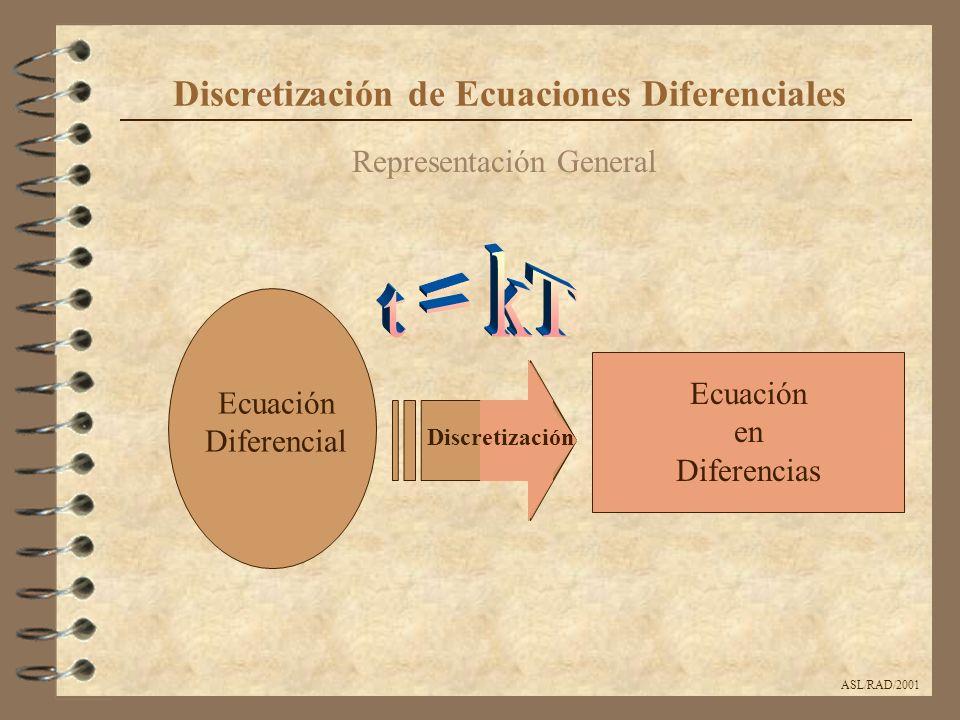 Discretización de Ecuaciones Diferenciales