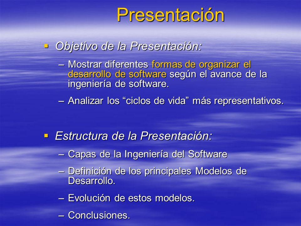 Presentación Objetivo de la Presentación: