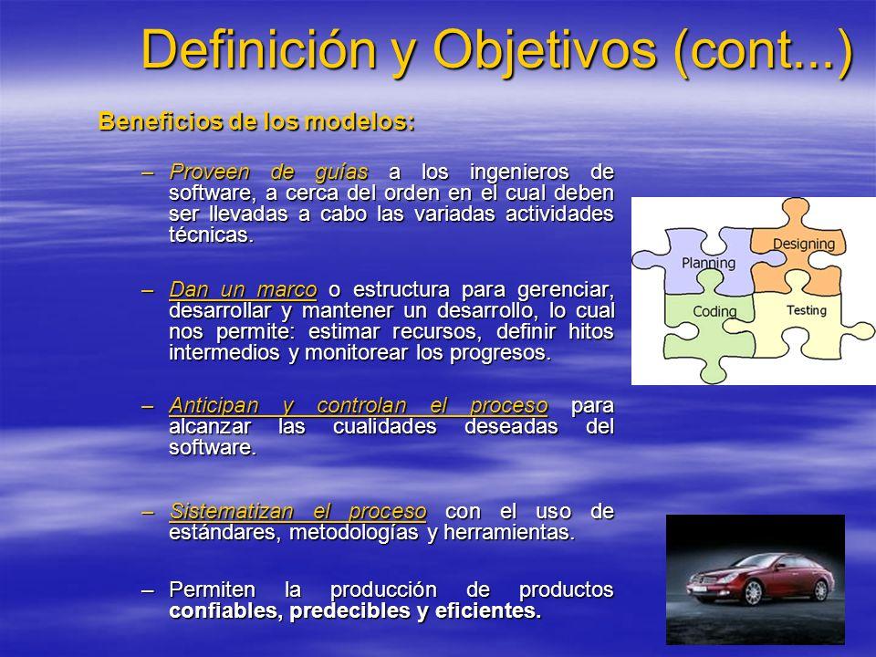 Definición y Objetivos (cont...)