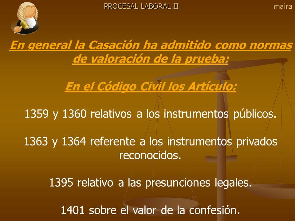 En el Código Civil los Artículo: