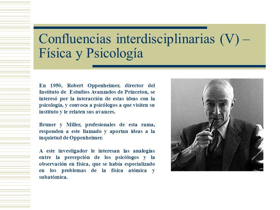 Confluencias interdisciplinarias (V) – Física y Psicología