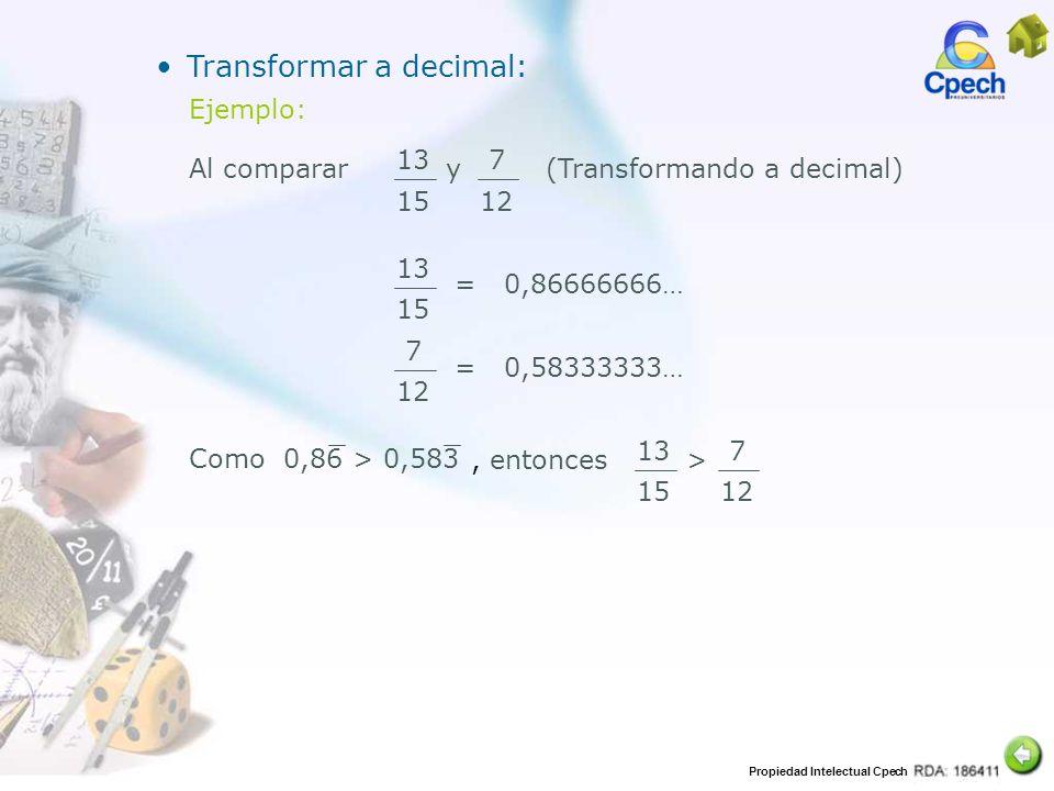 Transformar a decimal: