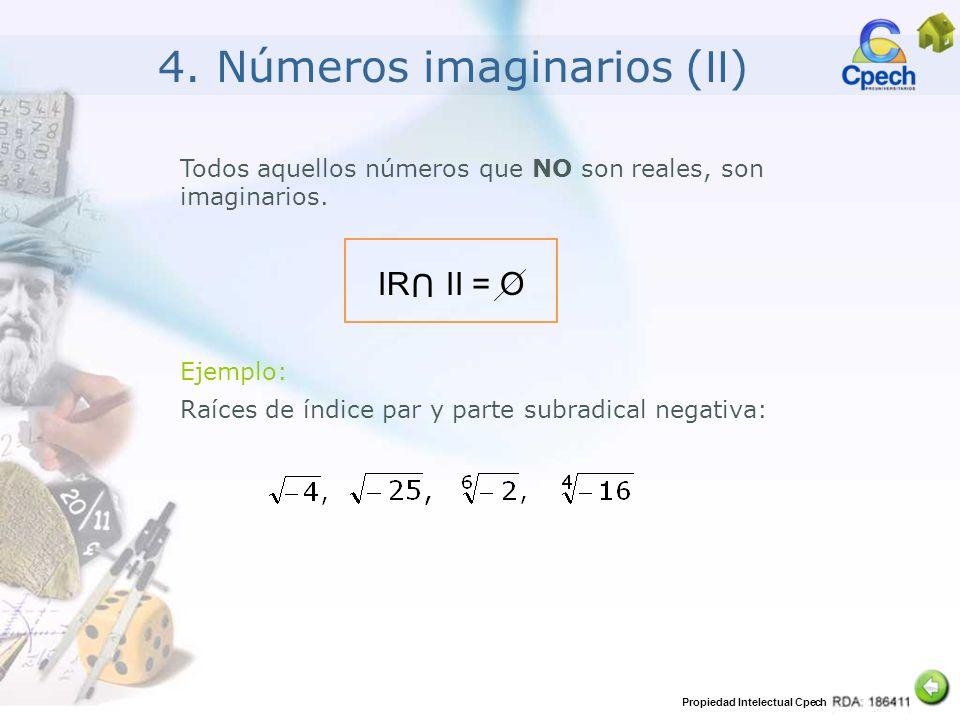 4. Números imaginarios (II)