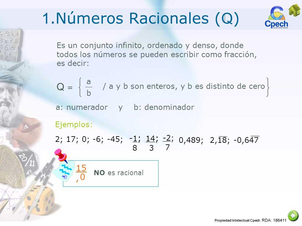 1.Números Racionales (Q)