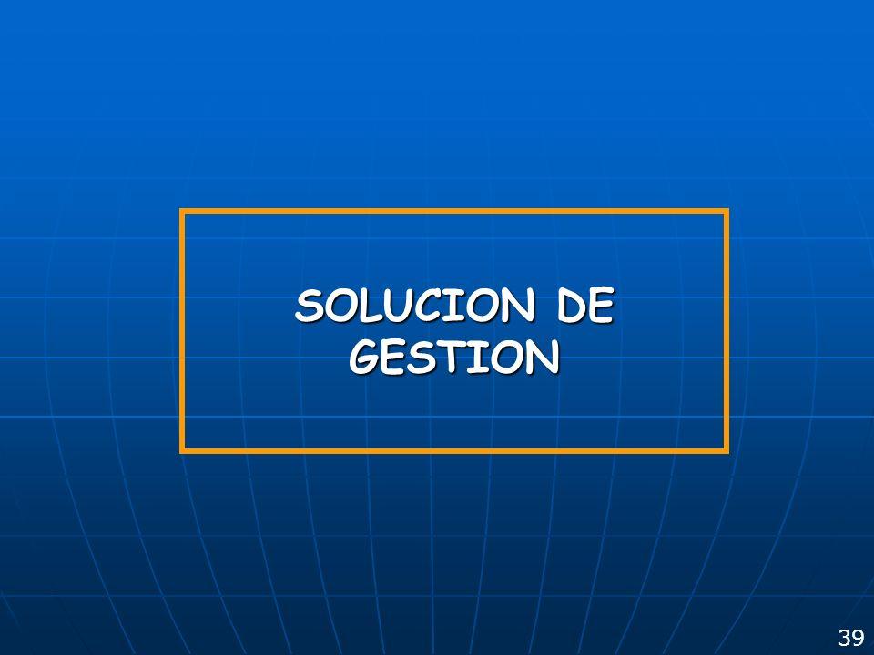 GYM S.A. 23/03/2017 SOLUCION DE GESTION 39