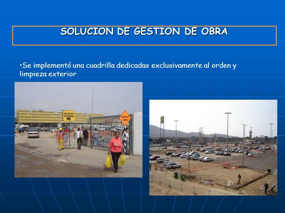 SOLUCION DE GESTION DE OBRA
