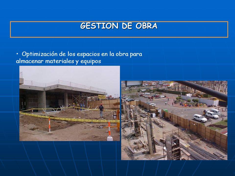 GYM S.A. 23/03/2017. GESTION DE OBRA.