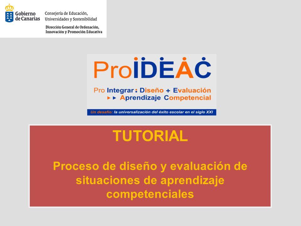 TUTORIAL Proceso de diseño y evaluación de