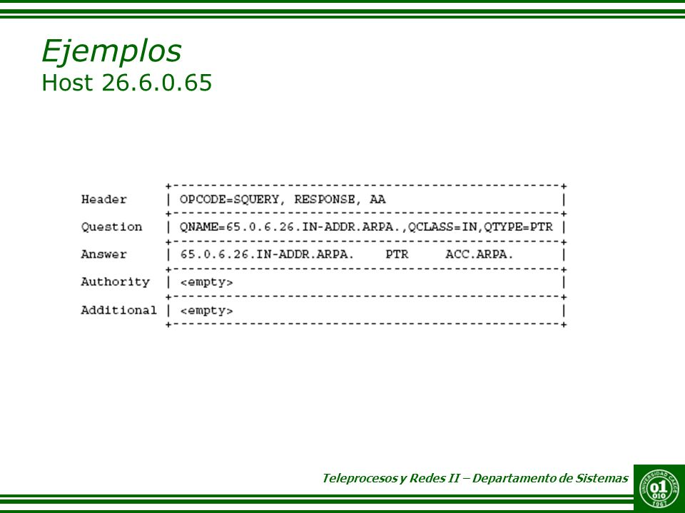 Ejemplos Host 26.6.0.65