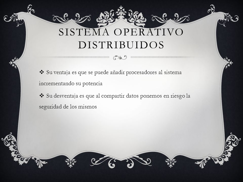 Sistema operativo distribuidos