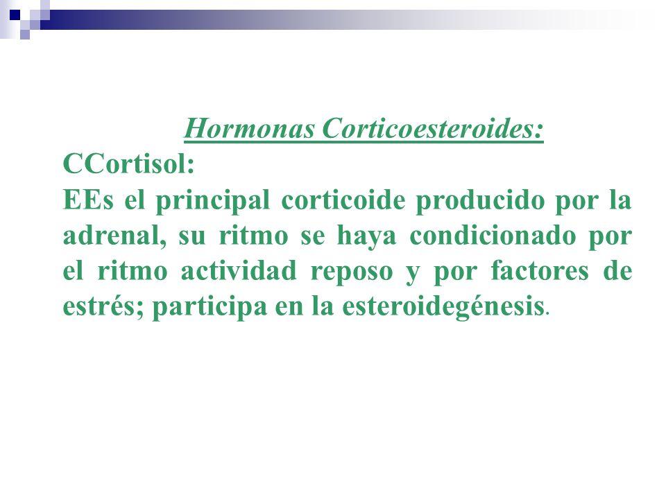 Hormonas Corticoesteroides: