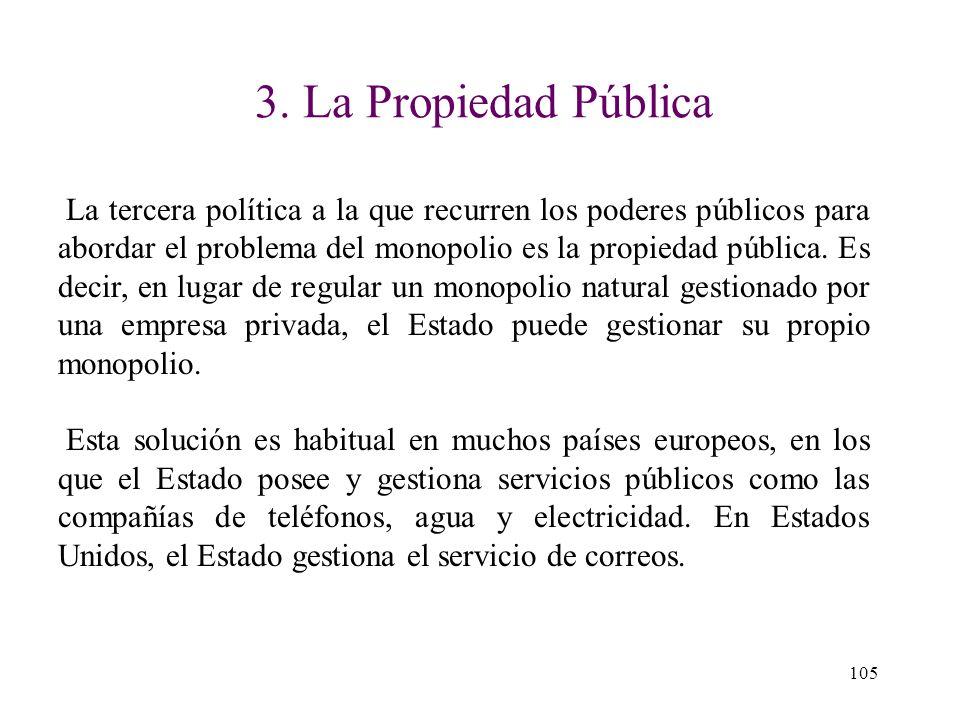 3. La Propiedad Pública