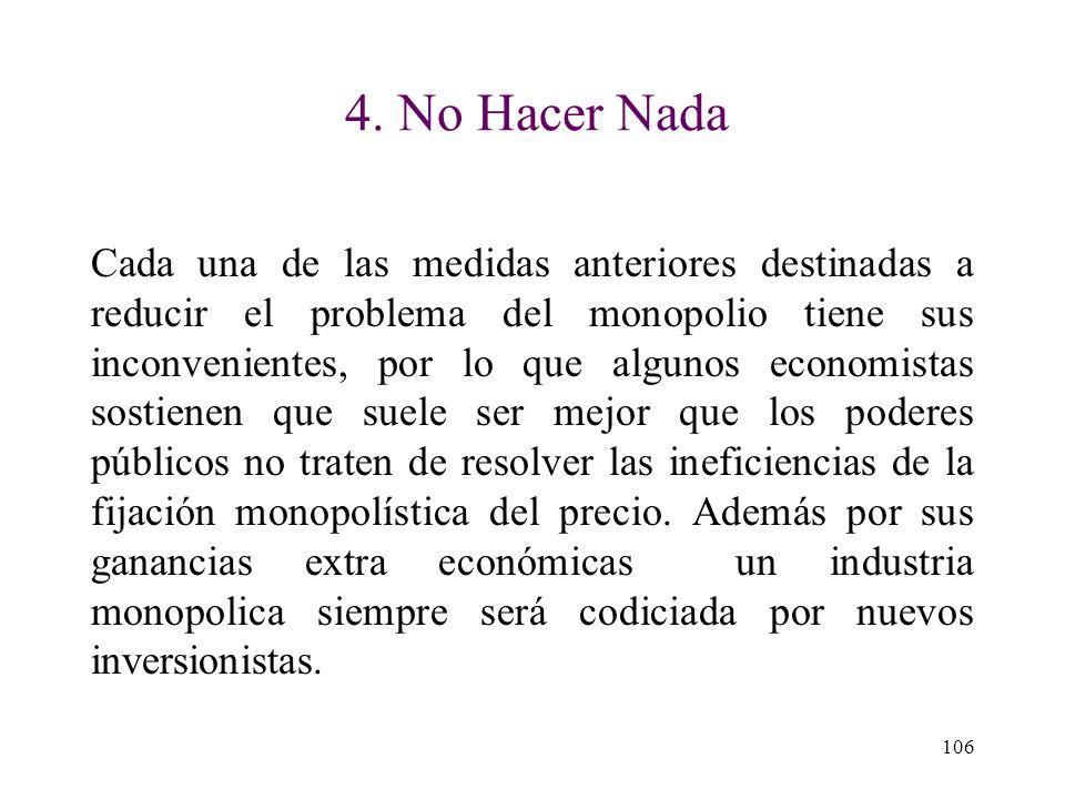 4. No Hacer Nada