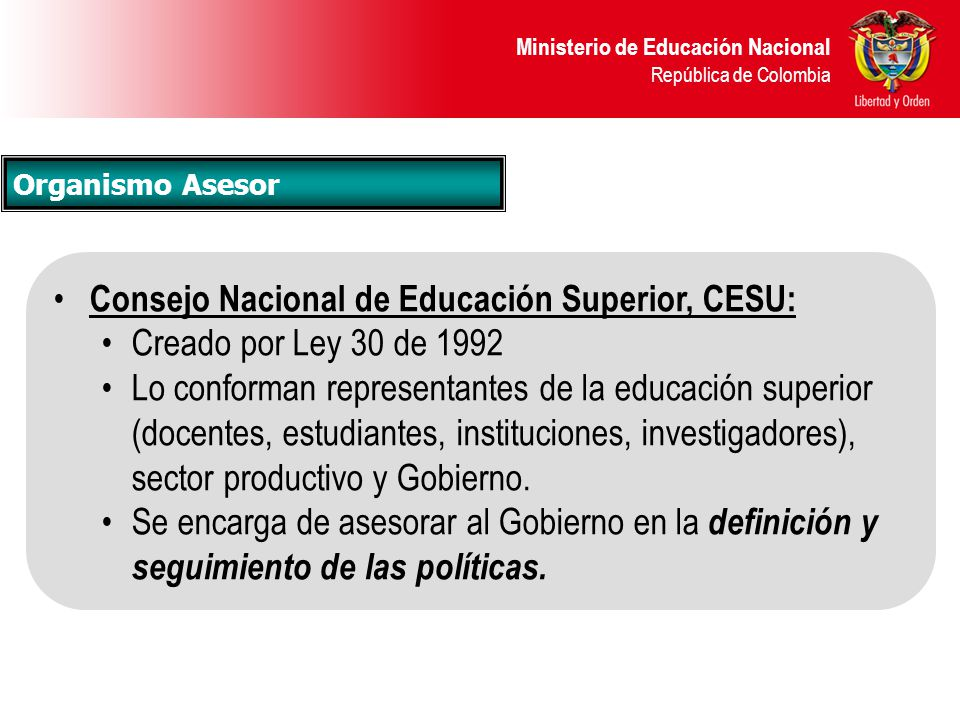 Ministerio de educaci n nacional ppt video online descargar for Ministerio de educacion plazas