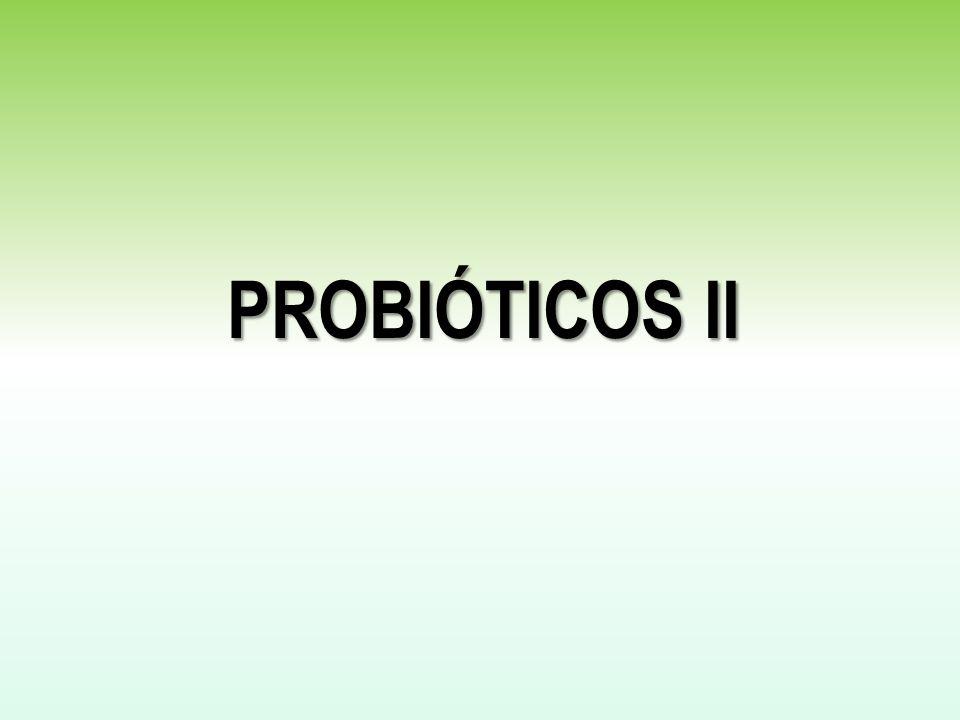 PROBIÓTICOS II
