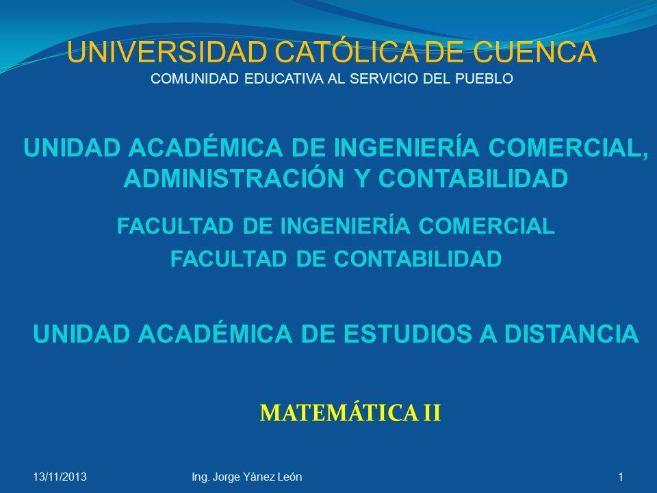 UNIVERSIDAD CATÓLICA DE CUENCA COMUNIDAD EDUCATIVA AL SERVICIO DEL PUEBLO