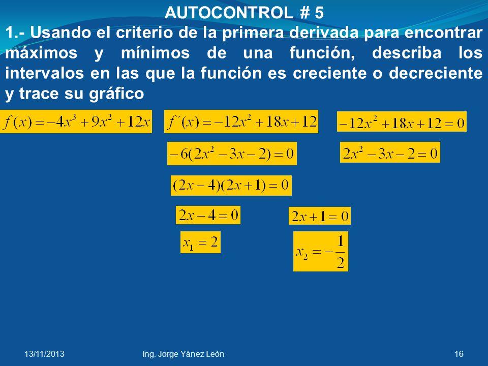 AUTOCONTROL # 5