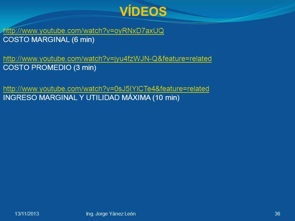 VÍDEOS http://www.youtube.com/watch v=oyRNxD7axUQ