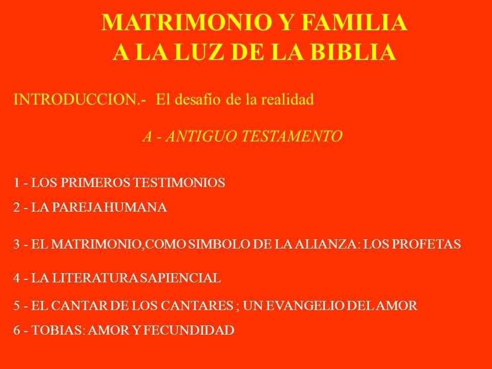 Biblia Matrimonio Familia : Biblia matrimonio familia y segun la