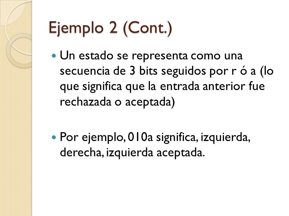 Ejemplo 2 (Cont.)