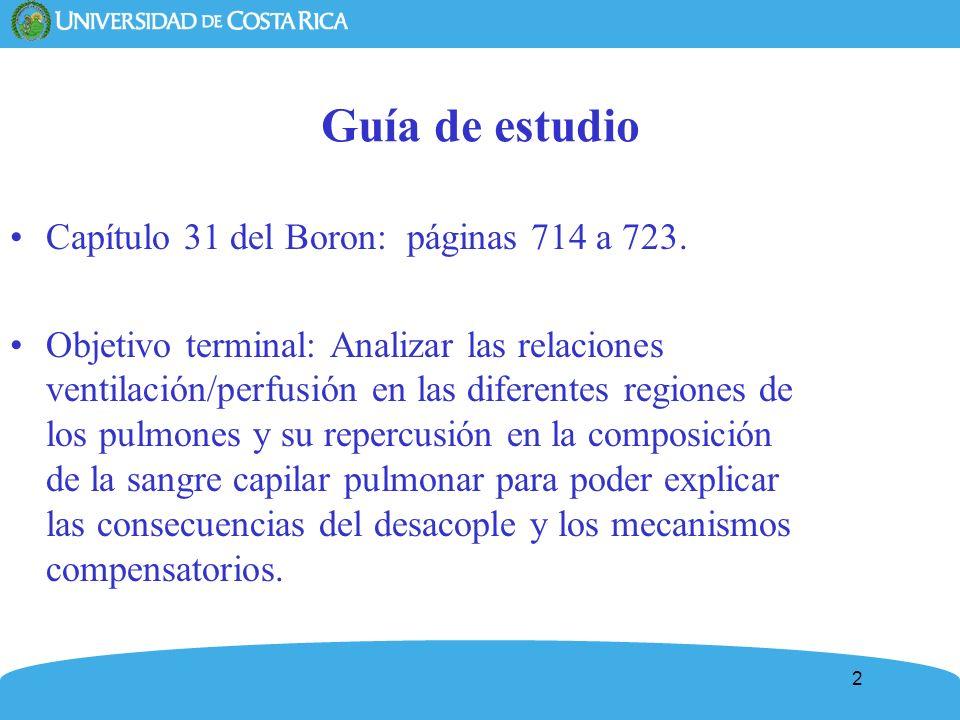 Guía de estudio Capítulo 31 del Boron: páginas 714 a 723.