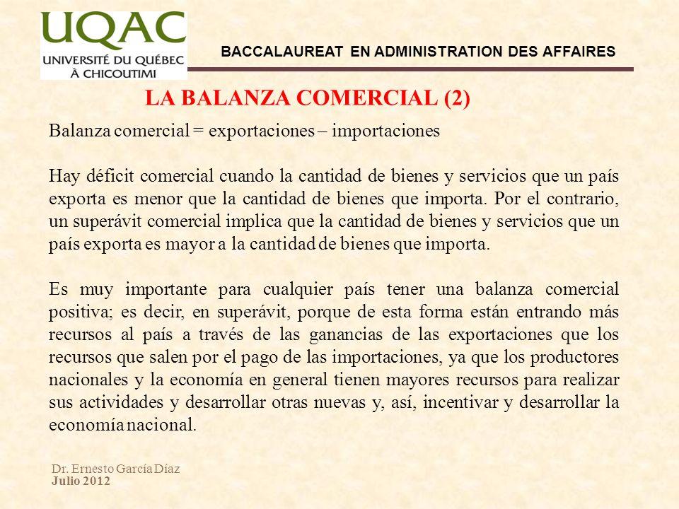 LA BALANZA COMERCIAL (2)