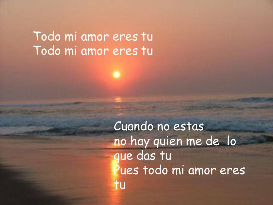 Todo mi amor eres tu Todo mi amor eres tu