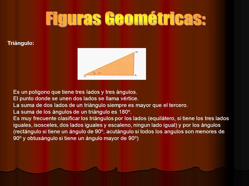 Figuras Geométricas: Triángulo: