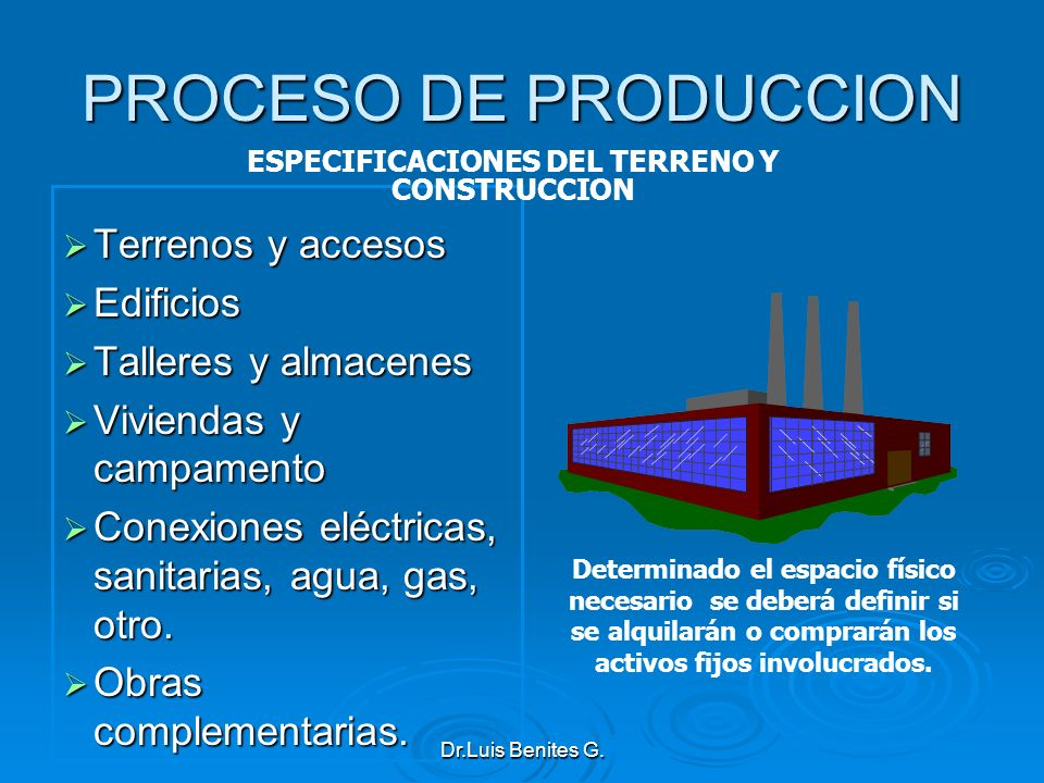ESPECIFICACIONES DEL TERRENO Y CONSTRUCCION