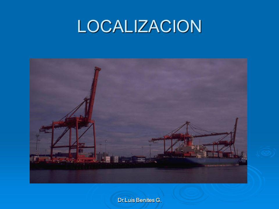 LOCALIZACION Dr.Luis Benites G.