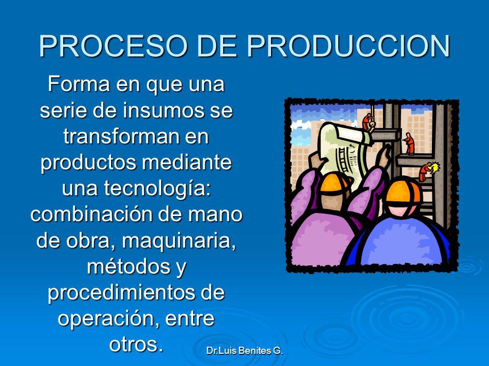 PROCESO DE PRODUCCION