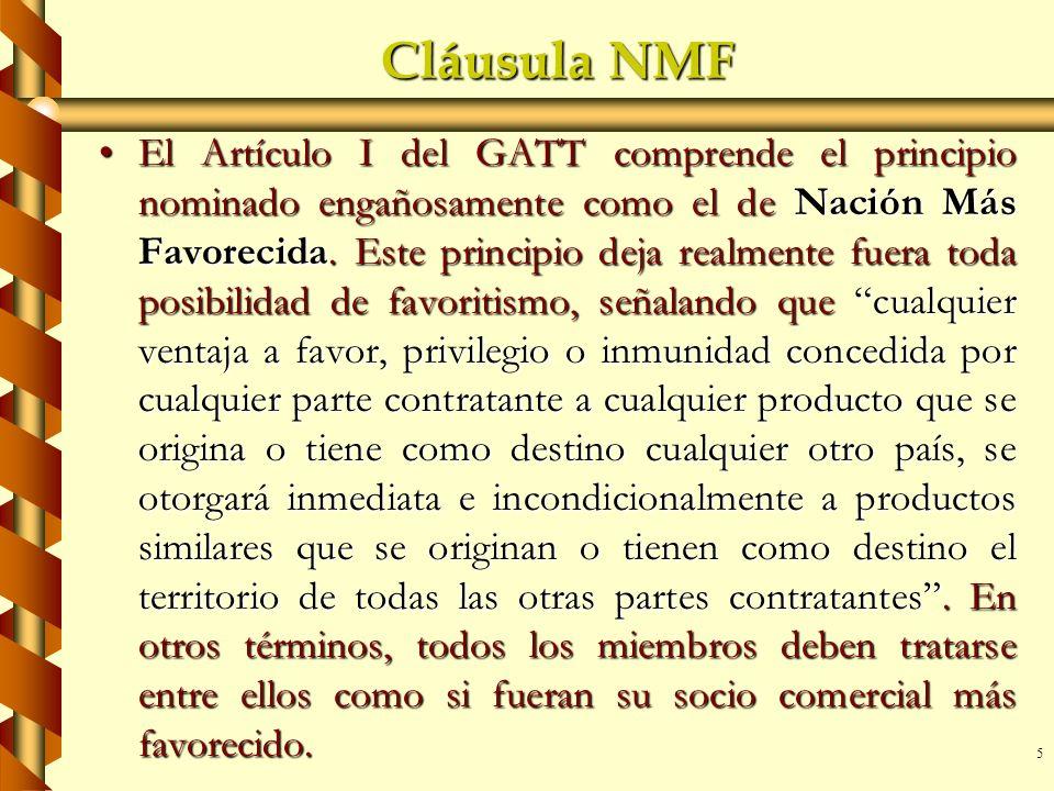Cláusula NMF