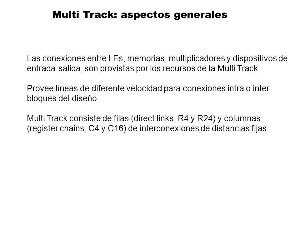 Multi Track: aspectos generales